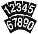 NUMBERS ONLY REGISTER BOARD (SET OF 3)