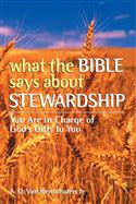 WHAT BIBLE SAYS ABOUT STEWARDSHIP