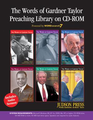 THE GARDNER TAYLOR PREACHING LIBRARY CD-ROM Church Supplies