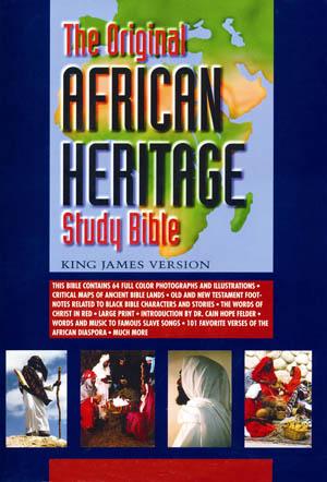 THE ORIGINAL AFRICAN HERITAGE STUDY BIBLE Paperback Book