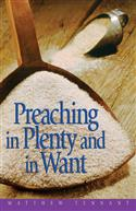 PREACHING IN PLENTY AND IN WANT EB